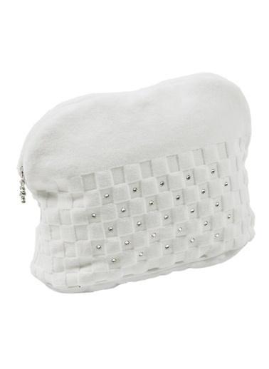 Hamam Premium Makyaj Çantası Beyaz